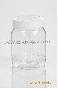 500克方瓶蜂蜜塑料包装瓶