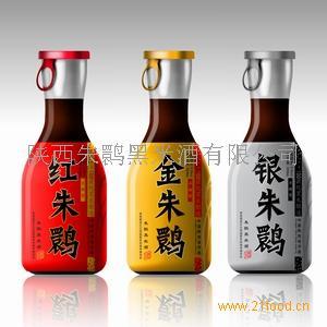 红朱鹮黑米酒