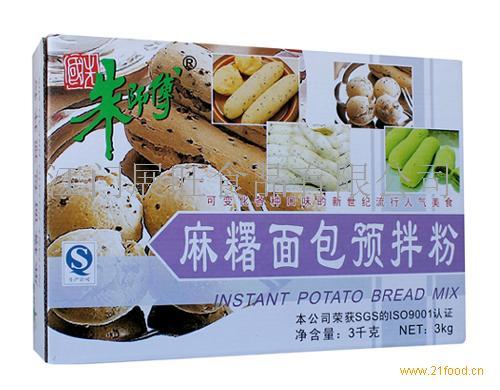 速溶麻糬面包预拌粉(3KG)