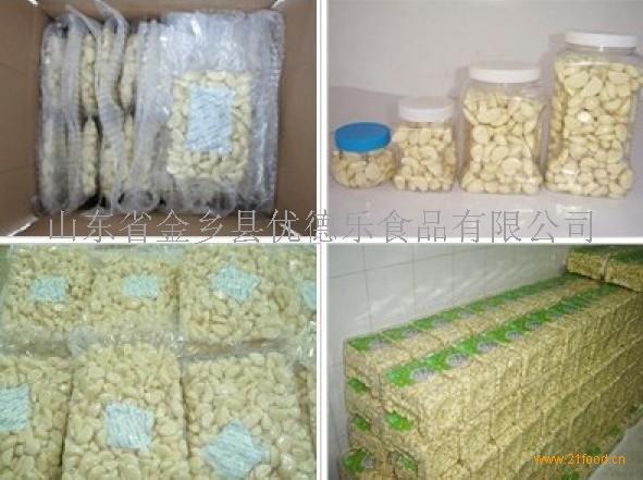 出口加拿大美国真空保鲜蒜米