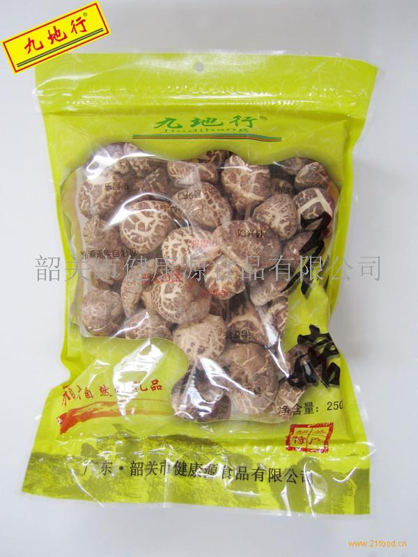 粤北特产干货九地行花菇