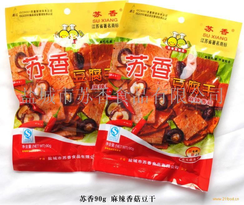 90克麻辣香菇豆腐干
