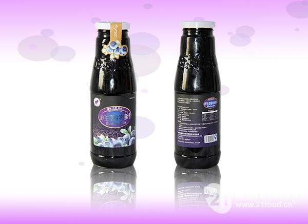 蓝莓浓缩汁(750ml)
