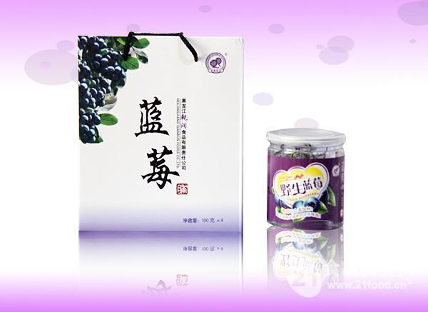 野生蓝莓 (四罐礼盒装)