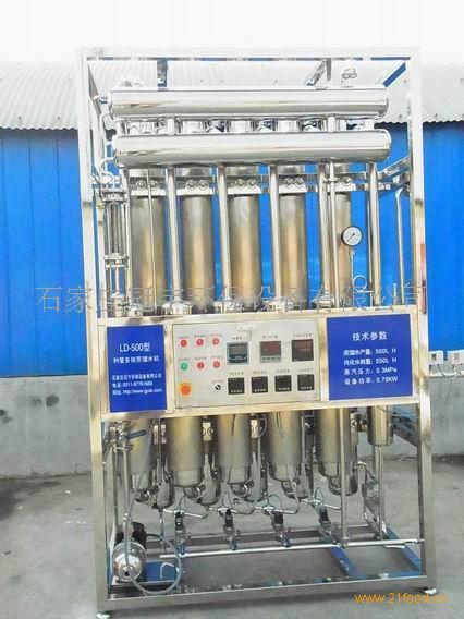 100升/小时列管多效蒸馏水机