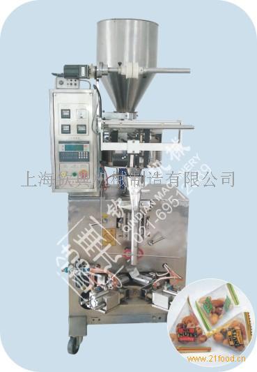供应清远苦瓜籽粉多功能粉剂包装机|冬瓜子粉三角粉末包装机