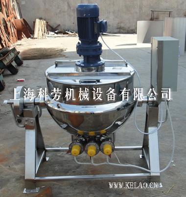 可倾式直搅拌夹层锅(蒸汽)