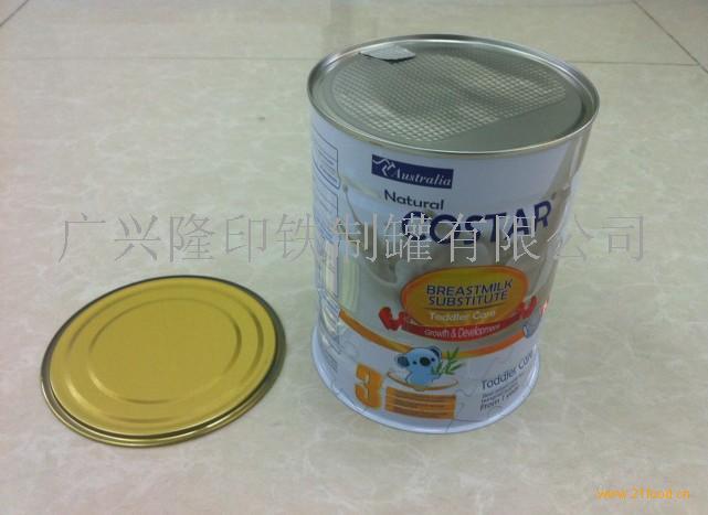 马口铁奶粉罐