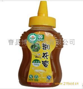 供应京密尖嘴蜂蜜 天然自然成熟荆花蜜 500G瓶装 原价98元