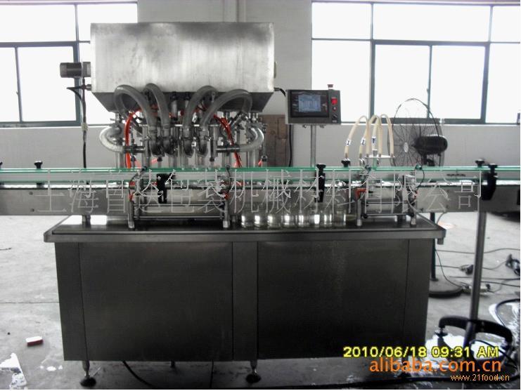 玻璃瓶果酱灌装机
