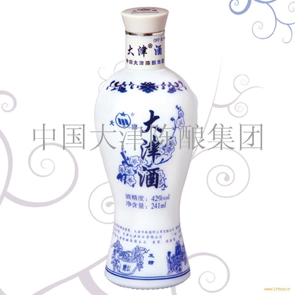 大津酒青花瓷瓶