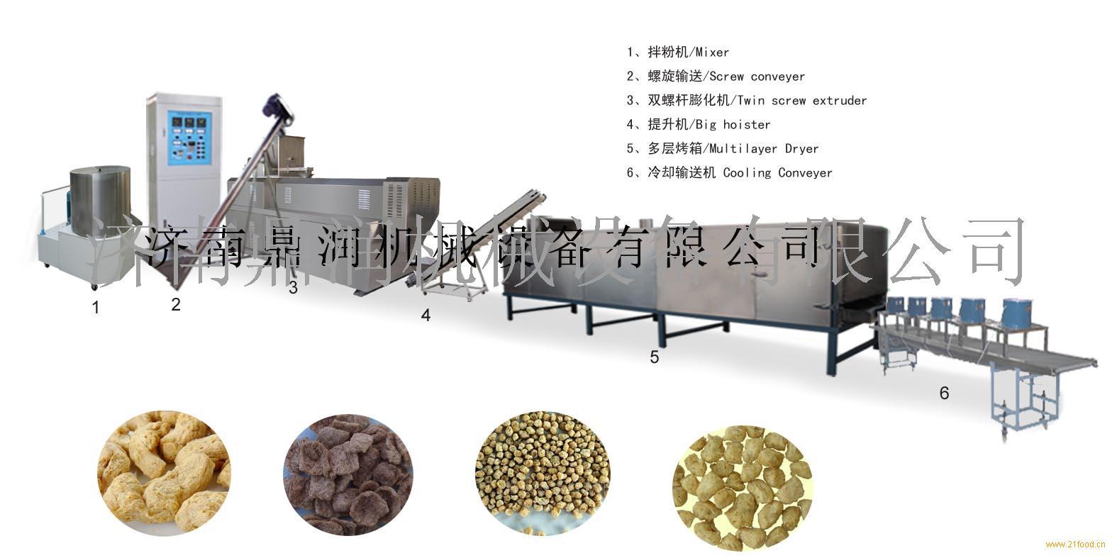 大豆组织蛋白生产线设备