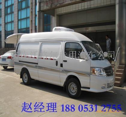 福田风景面包冷藏车