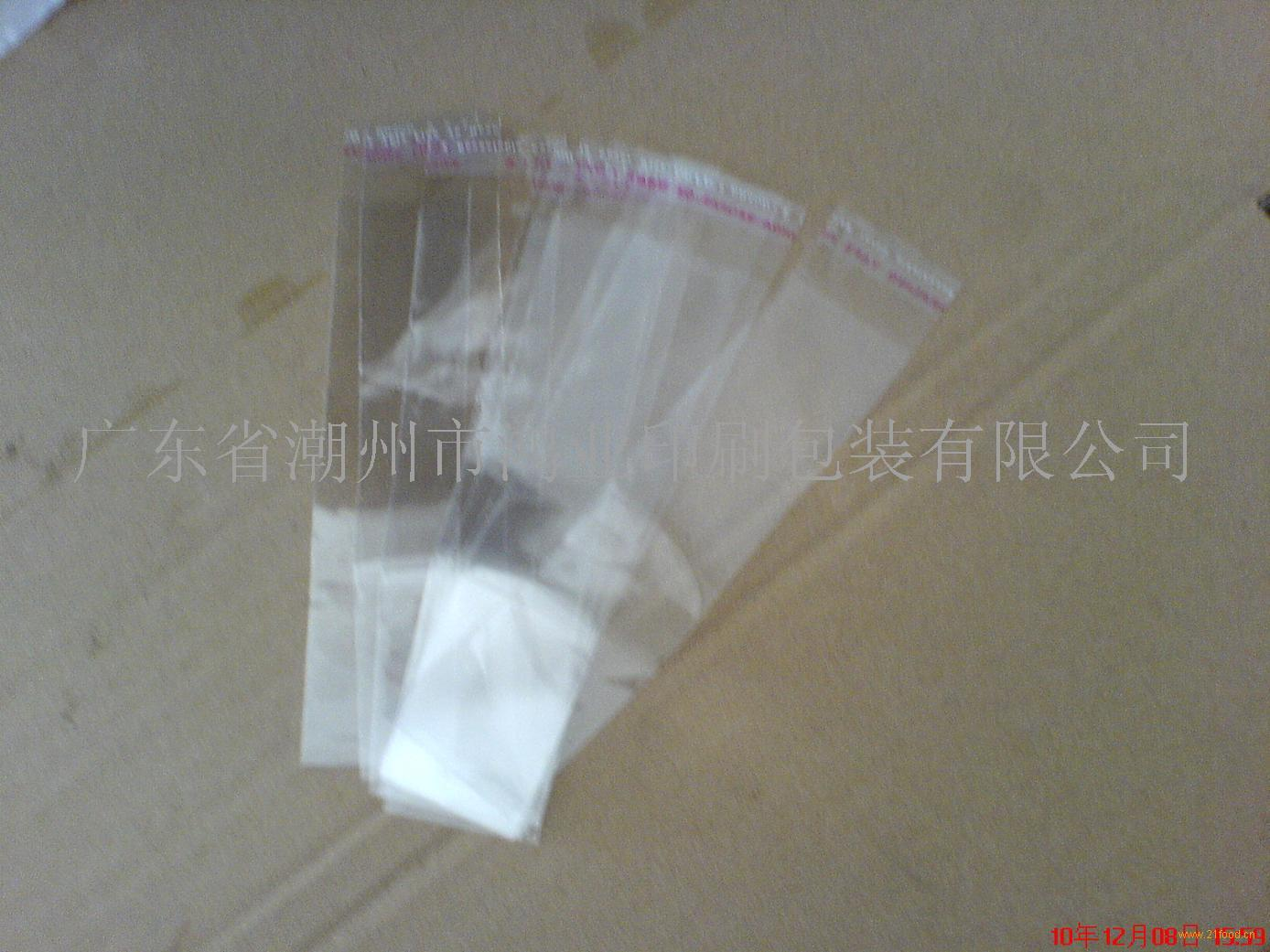 长期现货供应OPP自粘袋 透明塑料薄膜袋