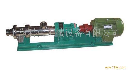 供应G系列浓浆泵