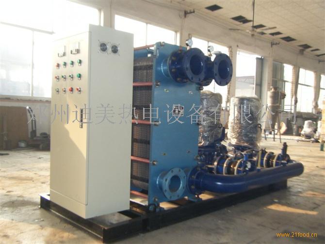 板式换热机组汽-水换热水-水换热