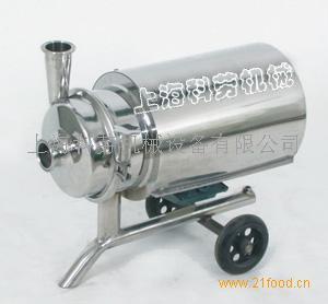 供应不锈钢移动式饮料泵