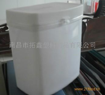 长方形婴儿米粉桶,塑料桶