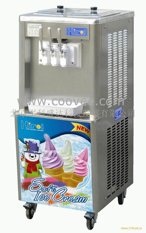 无电流动冰淇淋车