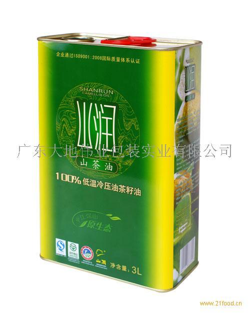 湖南山茶油铁罐包装