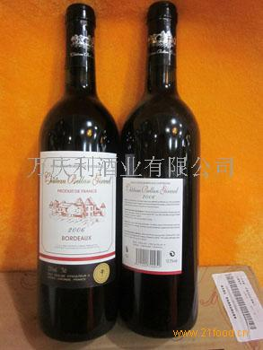 贝奇德庄园2006干红葡萄酒