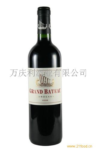 法国小龙船葡萄酒