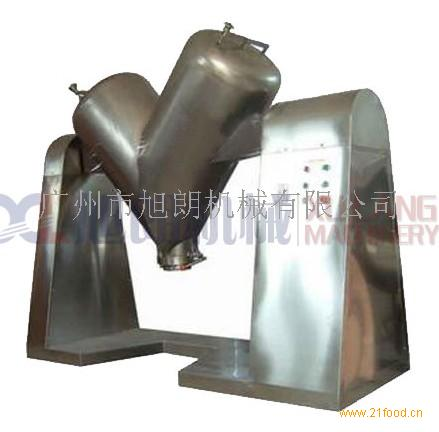 不锈钢V型混合机 商用混合搅拌器