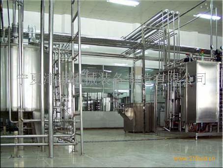 乳饮料生产线