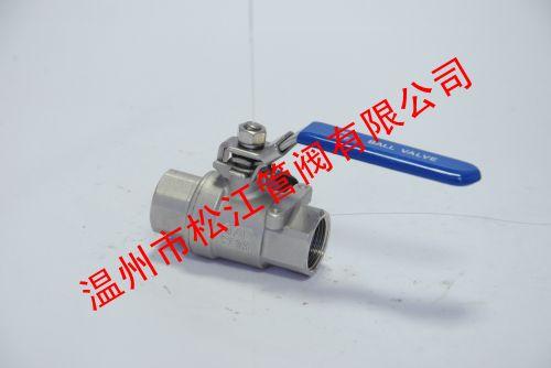 二片式球阀标准CF8M