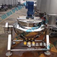 电加热式可倾斜夹层锅(全新)