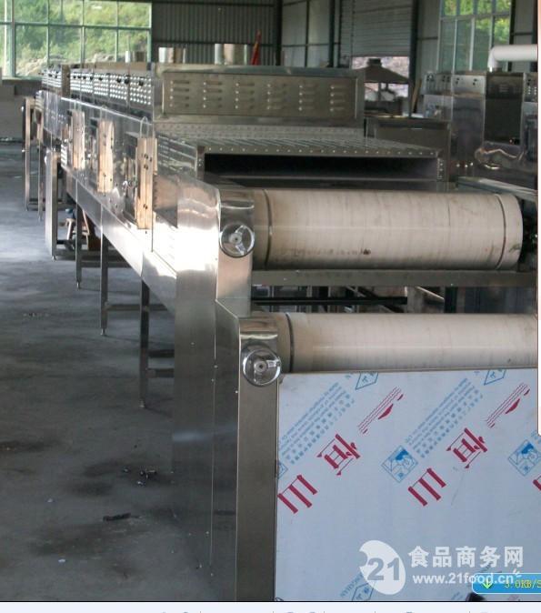黄花菜微波杀菌烘干燥设备