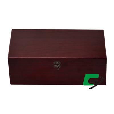双支仿红木酒盒