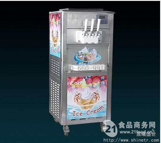 冷饮店冰淇凌机