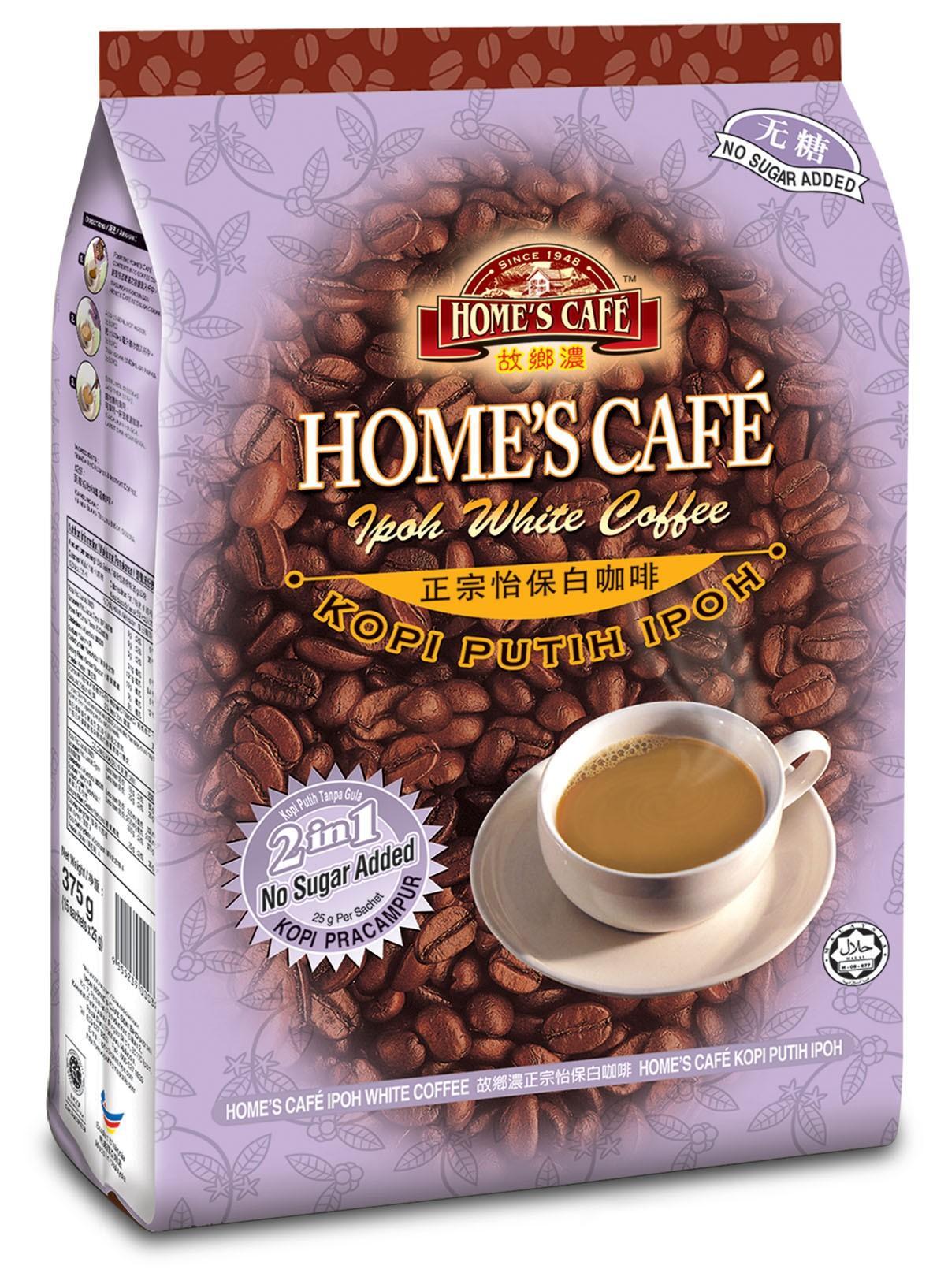 马来西亚故乡浓白咖啡无糖