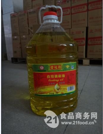 福建金冠園食用油調和油花生油