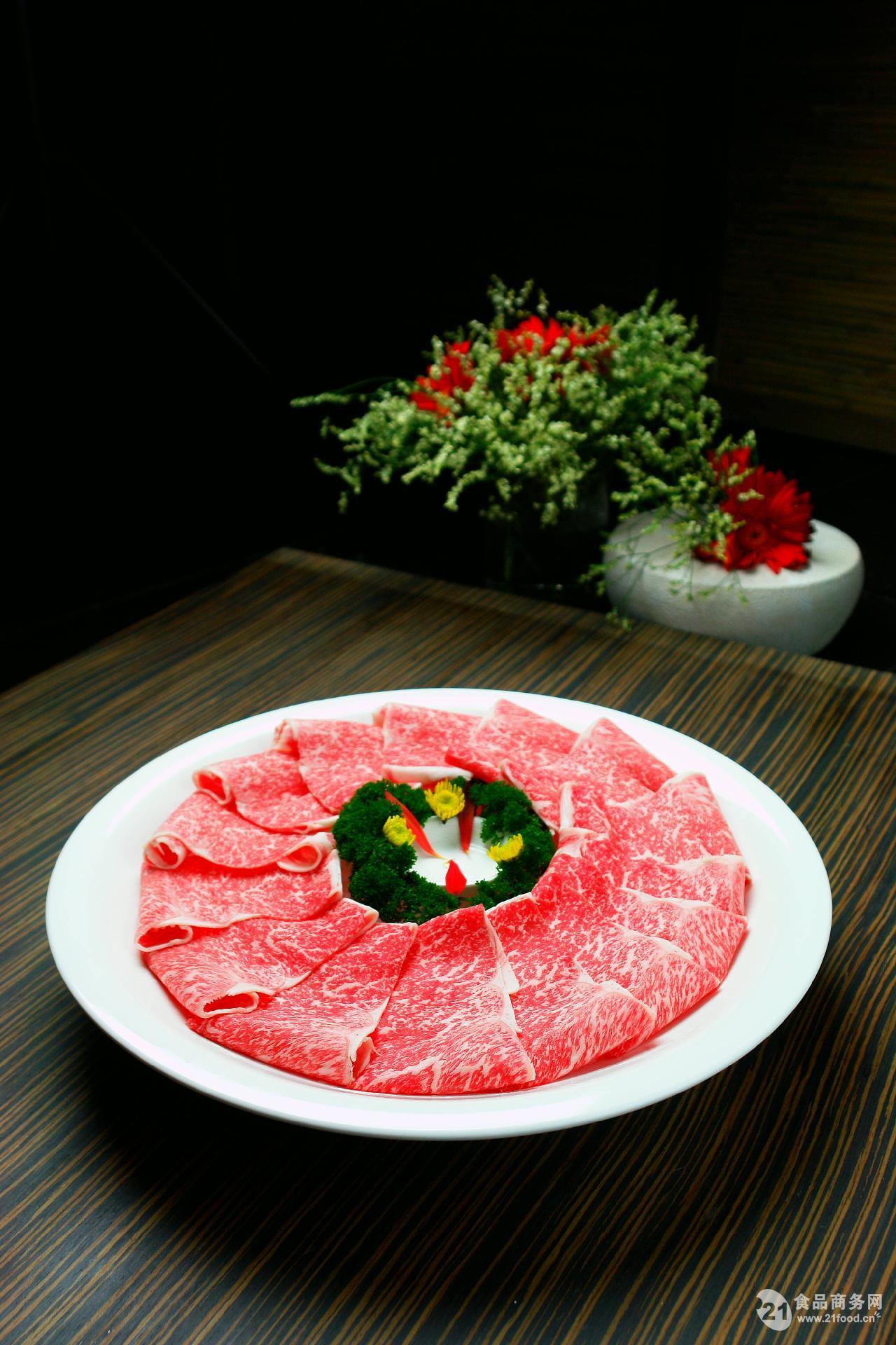 雪花牛肉系列产品