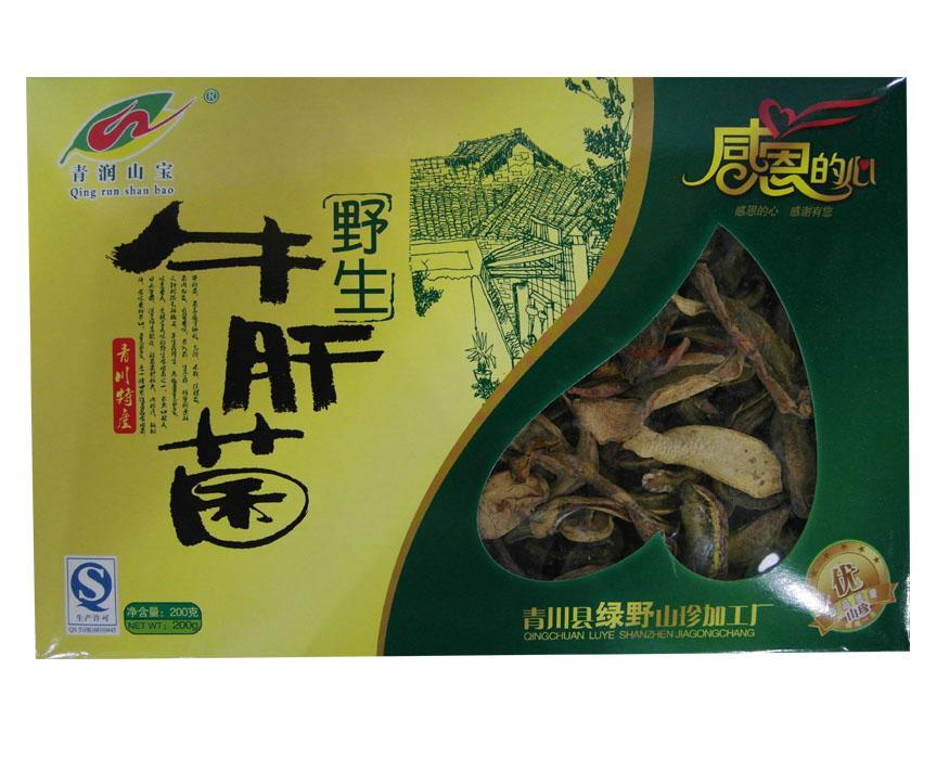 四川特产广元清润山宝牛肝菌200g