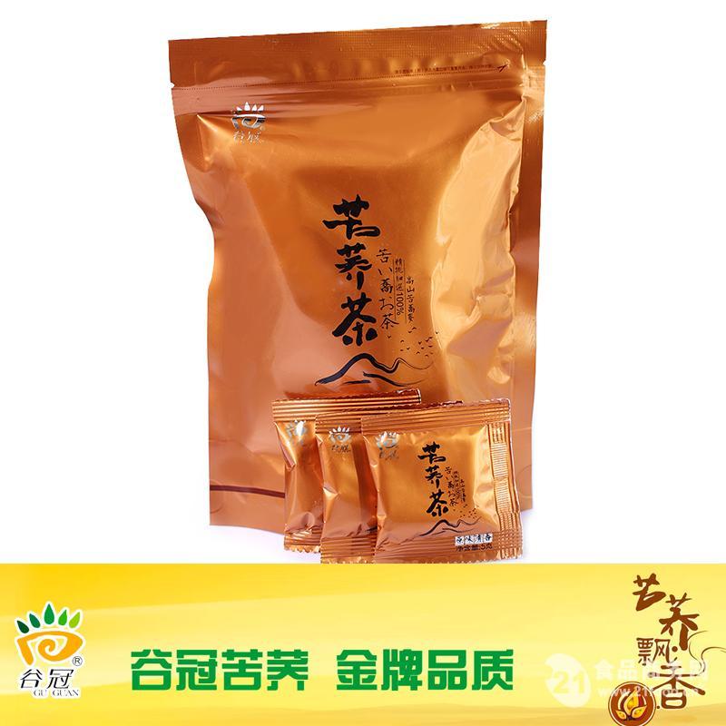 谷冠 120克袋装苦荞茶 全胚清香型