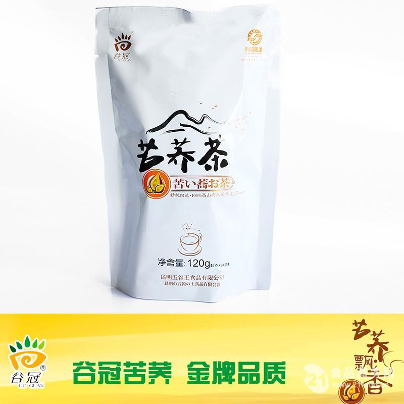 谷冠 120克袋装全胚麦香型苦荞茶