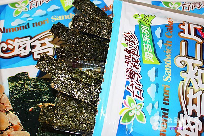 杏仁海苔片