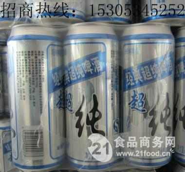 500ml纯生易拉罐啤酒
