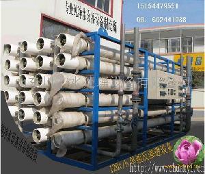 山东川一100T大型工业用水处理设备 脱盐水设备 去离子水设备