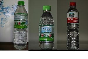 零售1元萬綠湖河森源山泉水方瓶