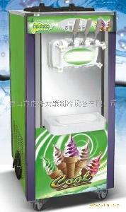 三色软冰激凌机器