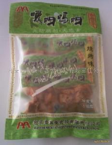 烧烤味80克精装休闲豆干