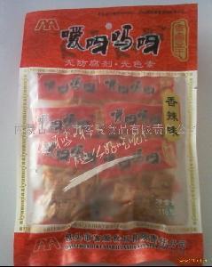香辣味80克精装休闲豆干