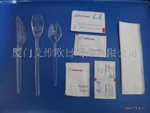 塑料刀叉勺套装