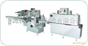 全自动盒装饼干分切热收缩机块状面条收缩包装机