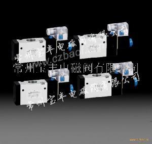 4V系列二位五通电磁阀
