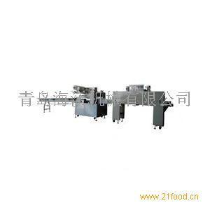 海沃餐具热收缩膜包装机